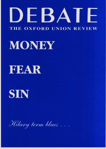 Debate Cover